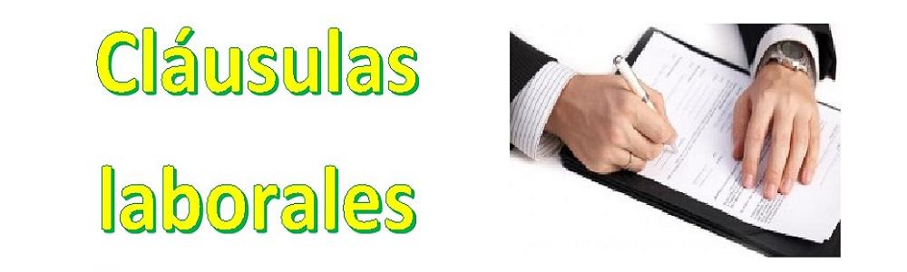 Clausulas Laborales